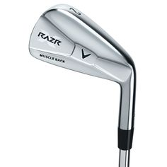 RAZR X Muscleback Irons, designed specifically to meet the demands of the most highly skilled players.