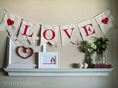 valentines day bunting