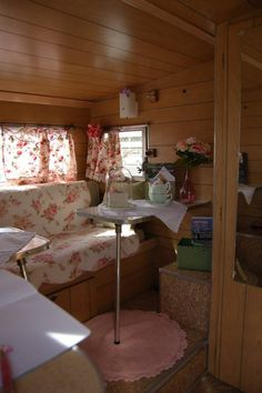 Aristocrat vintage trailer interior