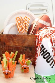 Great football party ideas!