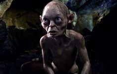 Gollum: The Hobbit Movie and Lord of the Rings.  My favorite character.  So Precioooouuuuuuusssss