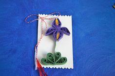 Circul Magic Shop: Martisoare quilling - Irisi