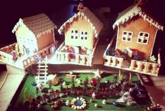 We made a little magic at #Starboard Restaurant #RadissonBlu #Gingerbreadhouse http://www.radissonblu.com/hotel-istanbul/restaurants