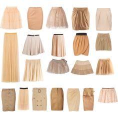 Nude Skirts