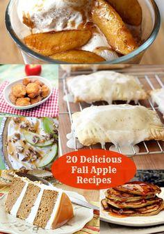 20 Delicious Apple Recipes For Fall - diycandy.com