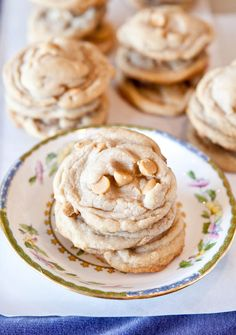 Vanilla peanut butter chip cookies - must try these!