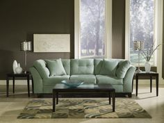 Solace Spa Sofa - American Signature Furniture