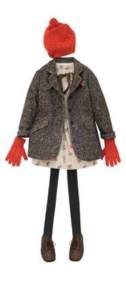 Love Audrey in denim coats