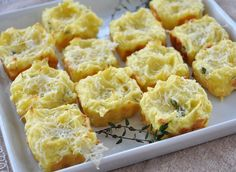 Thanksgiving Leftovers Recipe: Mashed Potato Puffs