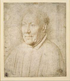 Jan van Eyck, Portrait of Cardinal Niccolò Albergati, about 1435