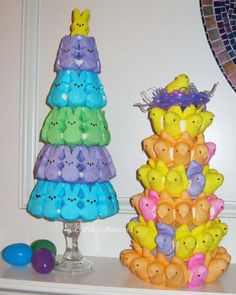 Easter Peeps Topiary Craft!