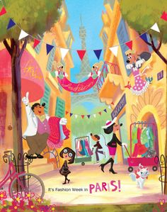 Minnie Mouse heads to Paris | Such a fun read for the kiddos! | #BabyCenterBlog