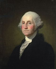 George Washington (oil on canvas) by Gilbert Stuart. Sterling & Francine Clark Art Institute, Williamstown, Massachusetts.
