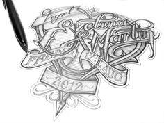 Inspiring Hand-Lettering Works by Martin Schmetzer