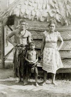 Samoan family.