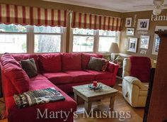 Have a Home You'll Love on a Budget! Home Tour From Marty's Musings