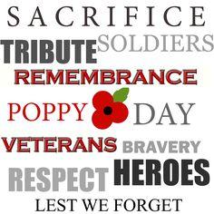 poppy for memorial day
