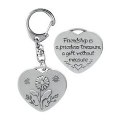 Friendship Heart Decorative Key Ring - Friendship Day Gifts - festchacha.com