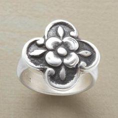 medieval rose ring