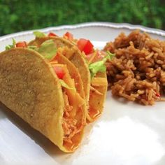 Cool Ranch Chicken Tacos {Slow Cooker} Recipe