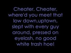 Cheater, Cheater by Joey and Rory