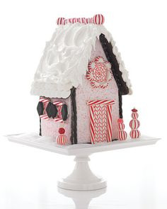 How to Make a Peppermint House - Martha Stewart Christmas Candy Recipes
