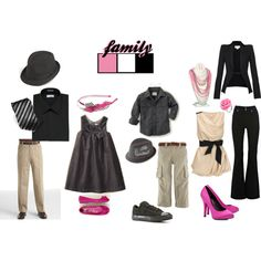 I love this Pink and black Set by chaoticperspectives on polyvore.This is a great mix of the these Fabulous colors!  | TaraThomas Photography