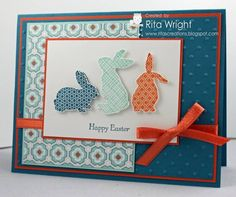 Bunnies for the Players by kyann22 - Cards and Paper Crafts at Splitcoaststampers