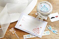 Pretty Wedding & Shower Printables ... free PDF downloads