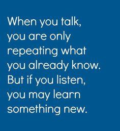 When You Talk