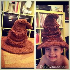 Free Pattern: Harry Potter Sorting Hat!