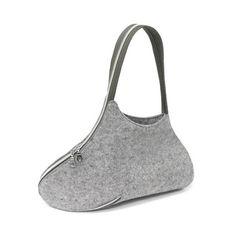 UM Shoulder Bag Gray Zipper / Josh Jakus