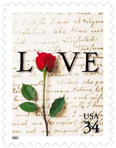 Love: Rose and Love Letter - 2001