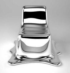 // Philipp Aduatz / melting chair