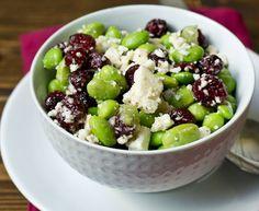 cranberri salad, cranberry salad