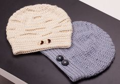 Ravelry: Bold & Subtle Chain Reactions Hats pattern by Elitza Chernaeva