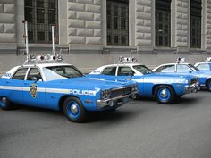 Plymouth Fury~Old police cars by Blue387, via Flickr