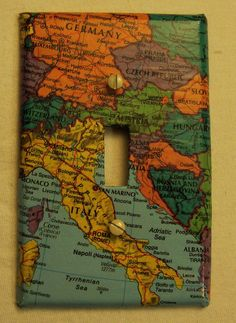 Another project for the house...change lightswitch covers to places I've traveled