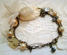 upcycled vintage jewelry :)