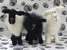 Knitted Sheep QUICK & EASY Buy 2 Patterns Get 1 by ViolaSueKnits