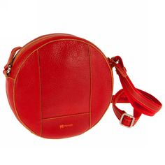 Round red bottle bag - Mywalit.