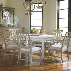 I pinned this Stanley Furniture Soledad Dining Table from the Traci Zeller Designs event at Joss and Main!