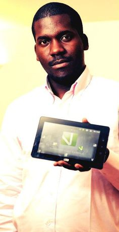 """Verone Mankou is the genius creator behind the Way-C tablet computer. The tablet is called the Way-C - """"the light of the stars"""" in a dialect of northern Congo.    Meet the Way-C, the first African tablet to rival the iPad, created by a young inventor with dreams of bringing internet access to the masses."""