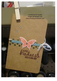 Stampin Up Kinda Eclectic journal