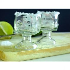 Patron Tequila Bottle Margarita Shot Glass – 50ml