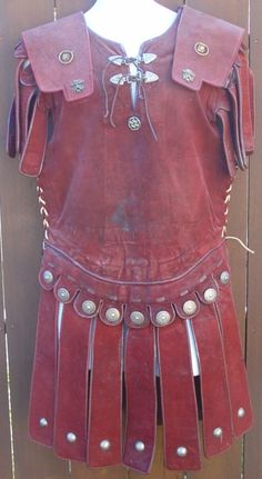 "A Tribune's leather armour from ""Ben Hur"" and ""Fall of the Roman Empire""."