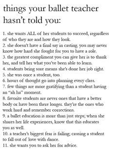I'm lucky to have students that seem to understand all this. Now we need the moms to get it, too. :P