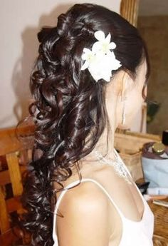 Peinado Alto con Bucles para tus 15 Años - Blog de Maquillaje y Belleza | Inolvidables 15 - 15Todo15 en Inolvidables15.com