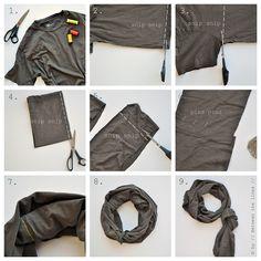 DIY: infinity scarf