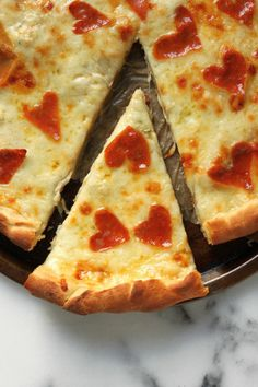 Four Cheese Pepperoni Pizza | bakerbynature.com | #italian #dinner #recipe